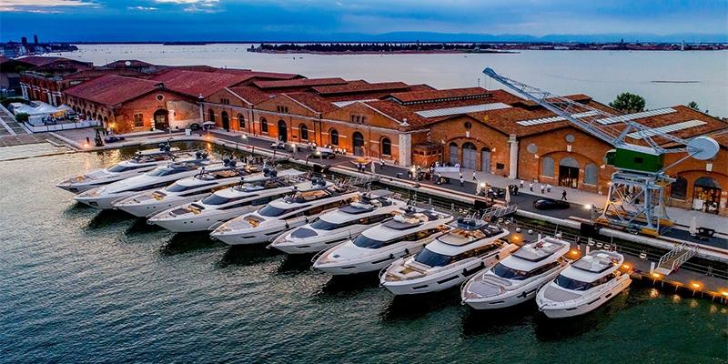 Ferretti Group на венецианском яхтенном шоу 2021