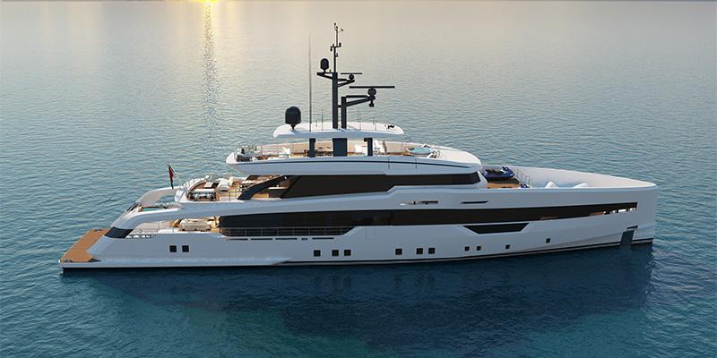 CRN представила проект 52-метрової кастом яхти