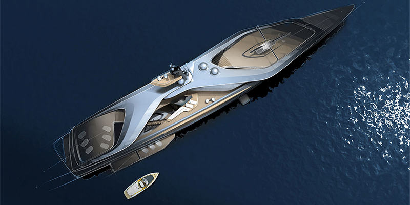 Oceanco and Pininfarina have teamed up to create the superyacht Kairos