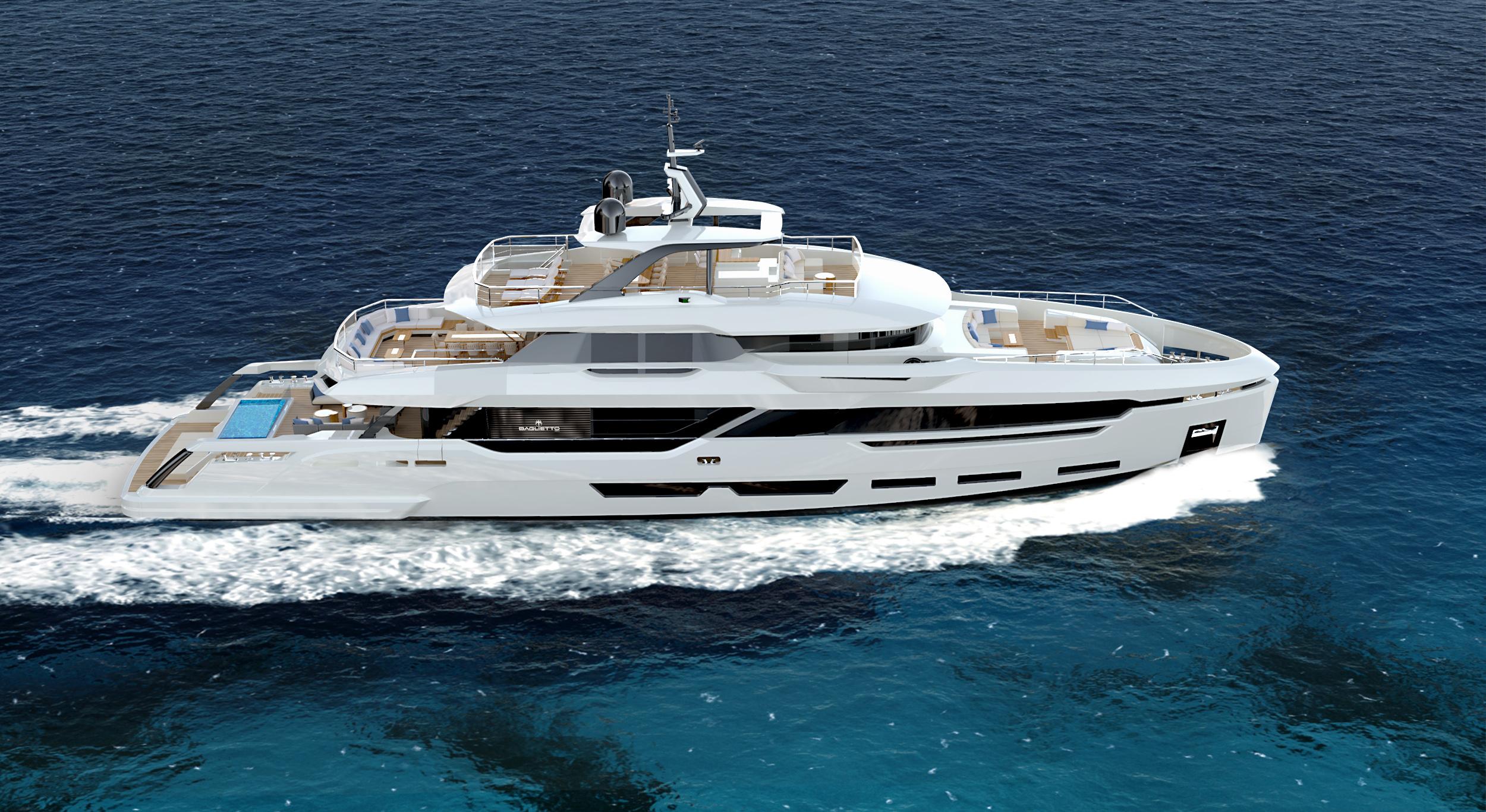 Buy yacht Baglietto 41m Dom