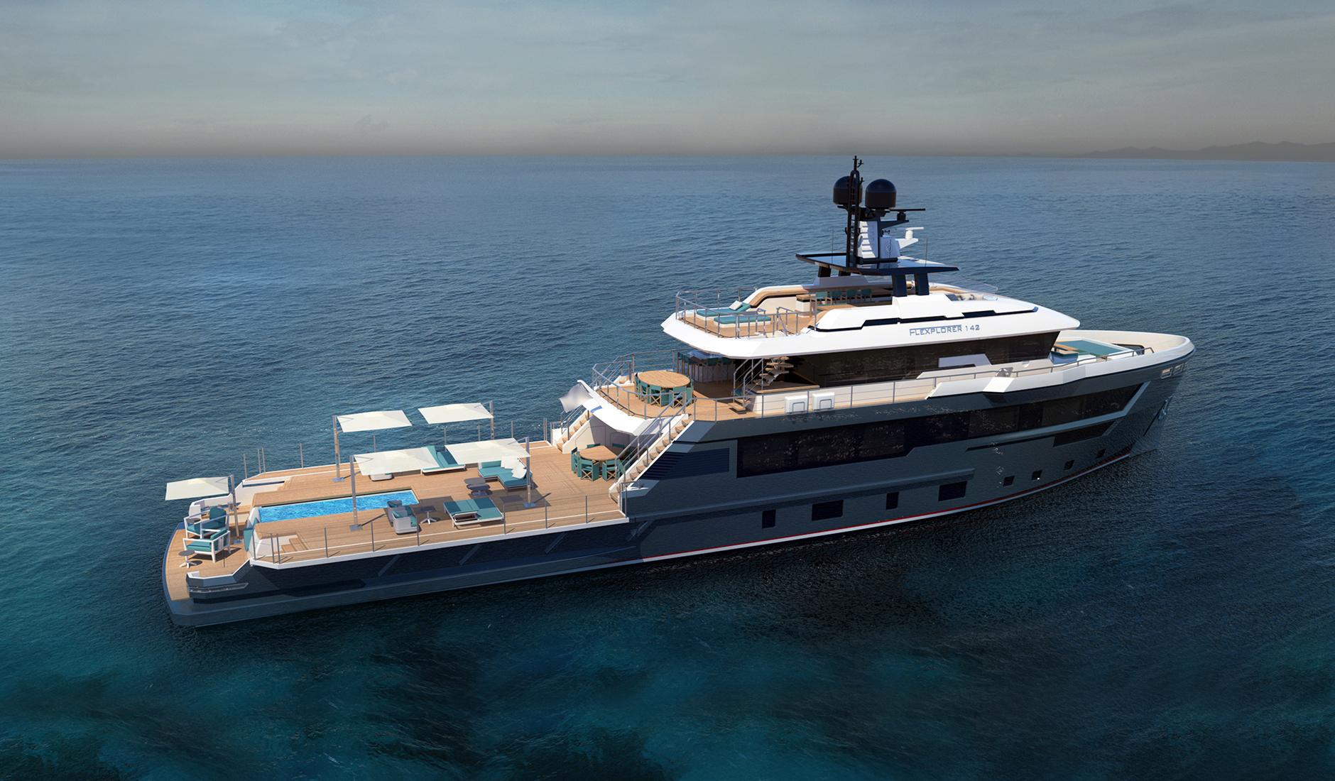 Купить яхту Cantiere delle Marche Flexplorer 142