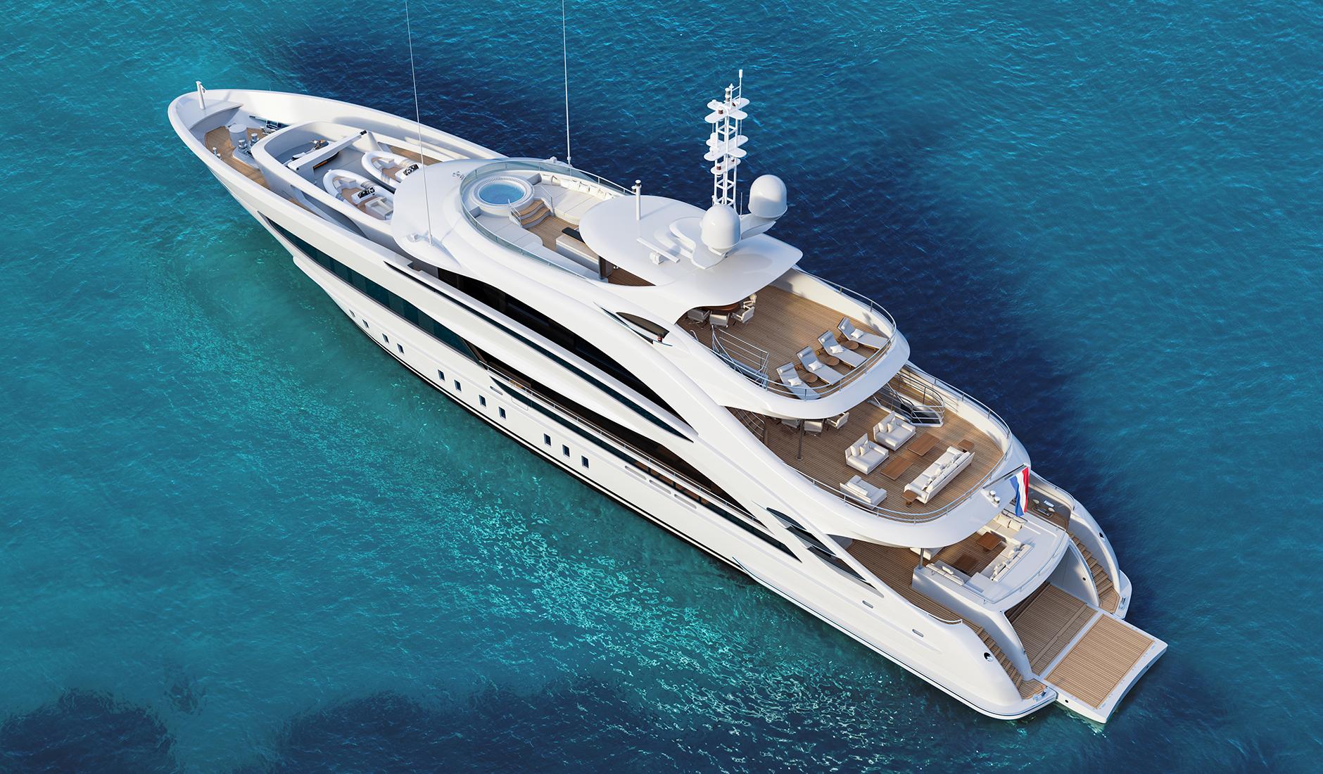 Buy yacht Heesen 50m Steel Displacement
