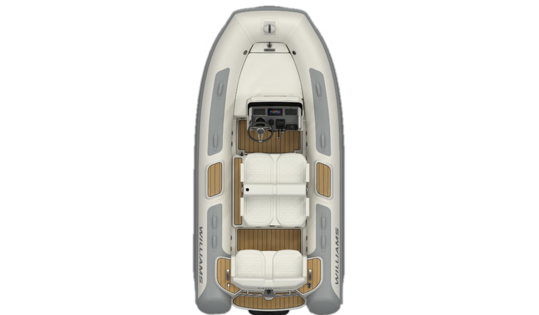 Buy yacht Williams Tenders Dieseljet 415